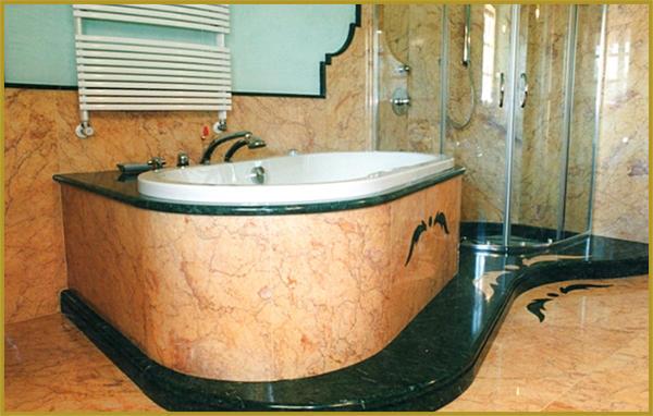 Vasca Da Bagno Marmo : Vasca da bagno di pietra di marmo naturale del granito del