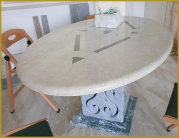 Lavorazioni marmi marche marmi marche tavoli in marmo for Marche tavoli